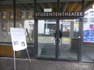Eingang Stundententheater